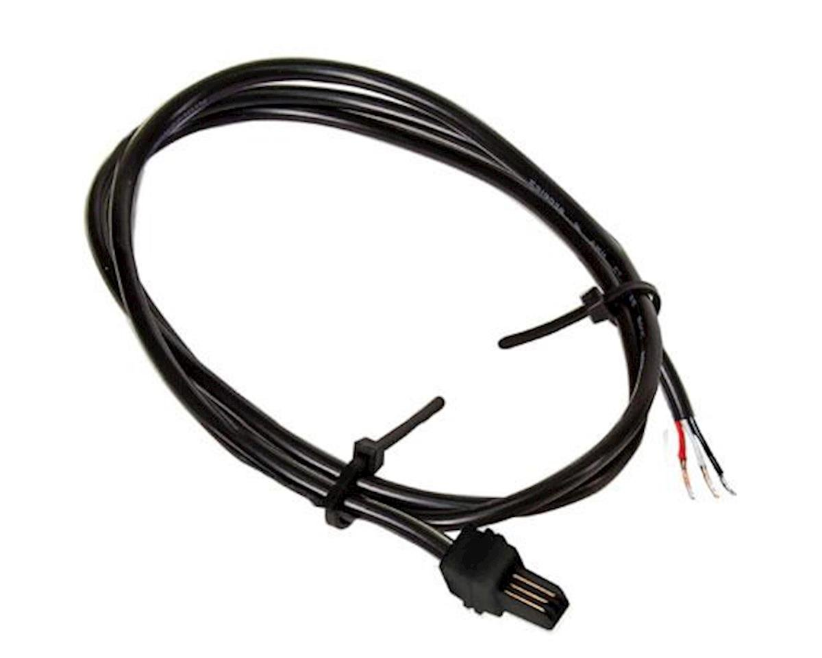 Lionel 3-pin M Pigtail Power Cable, 3'