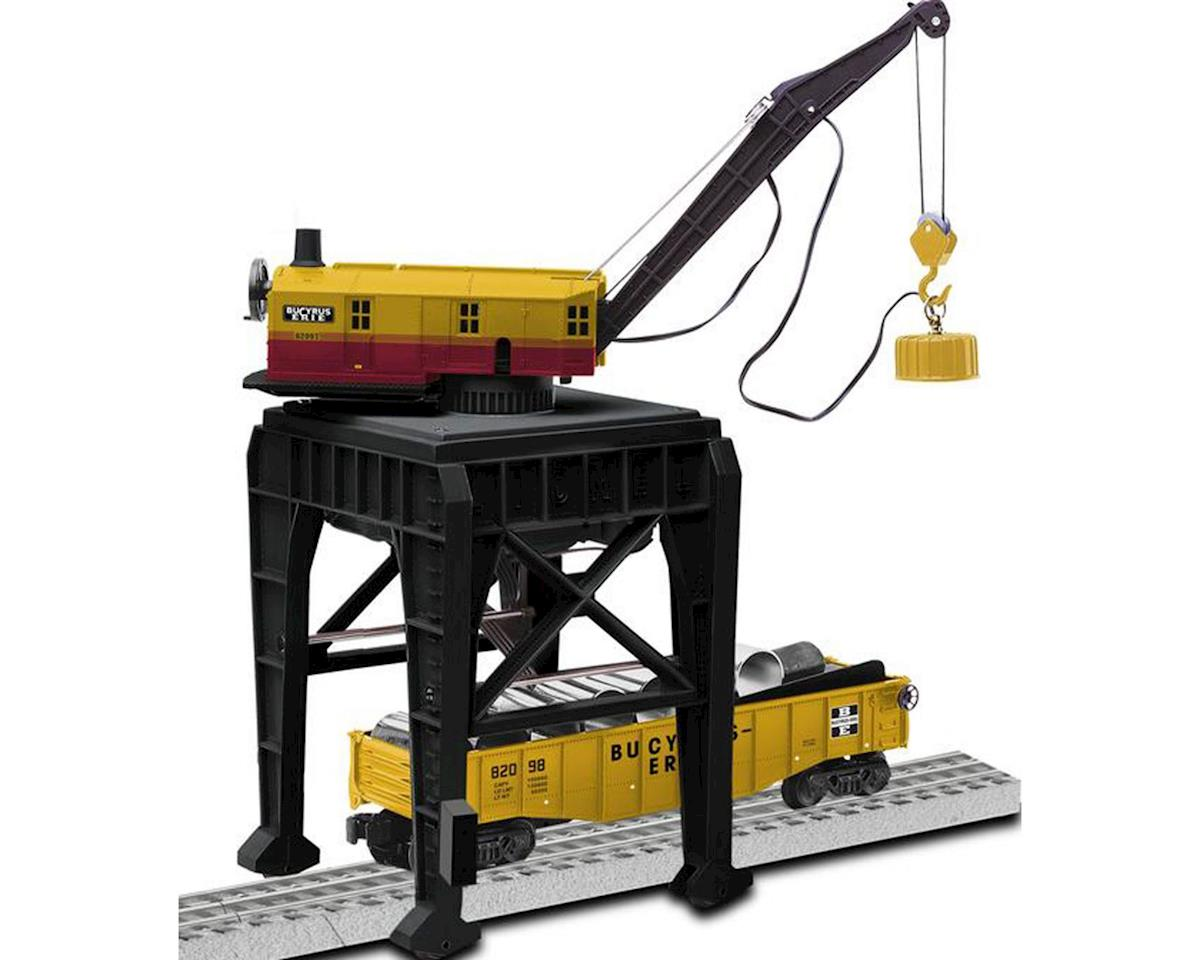 Lionel O Command Controlled Gantry Crane, Bucyrus-Erie