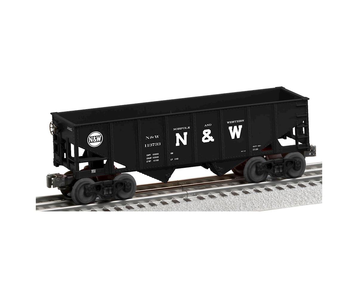 Lionel O-27 2-Bay Coal Hopper, N&W