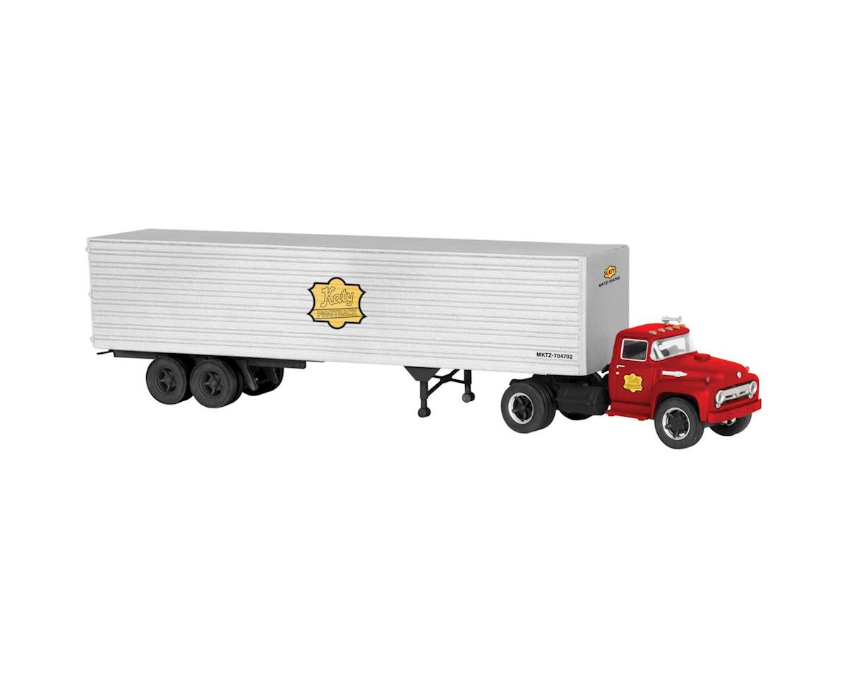 Lionel O 40' Trailer w/Truck, MKT