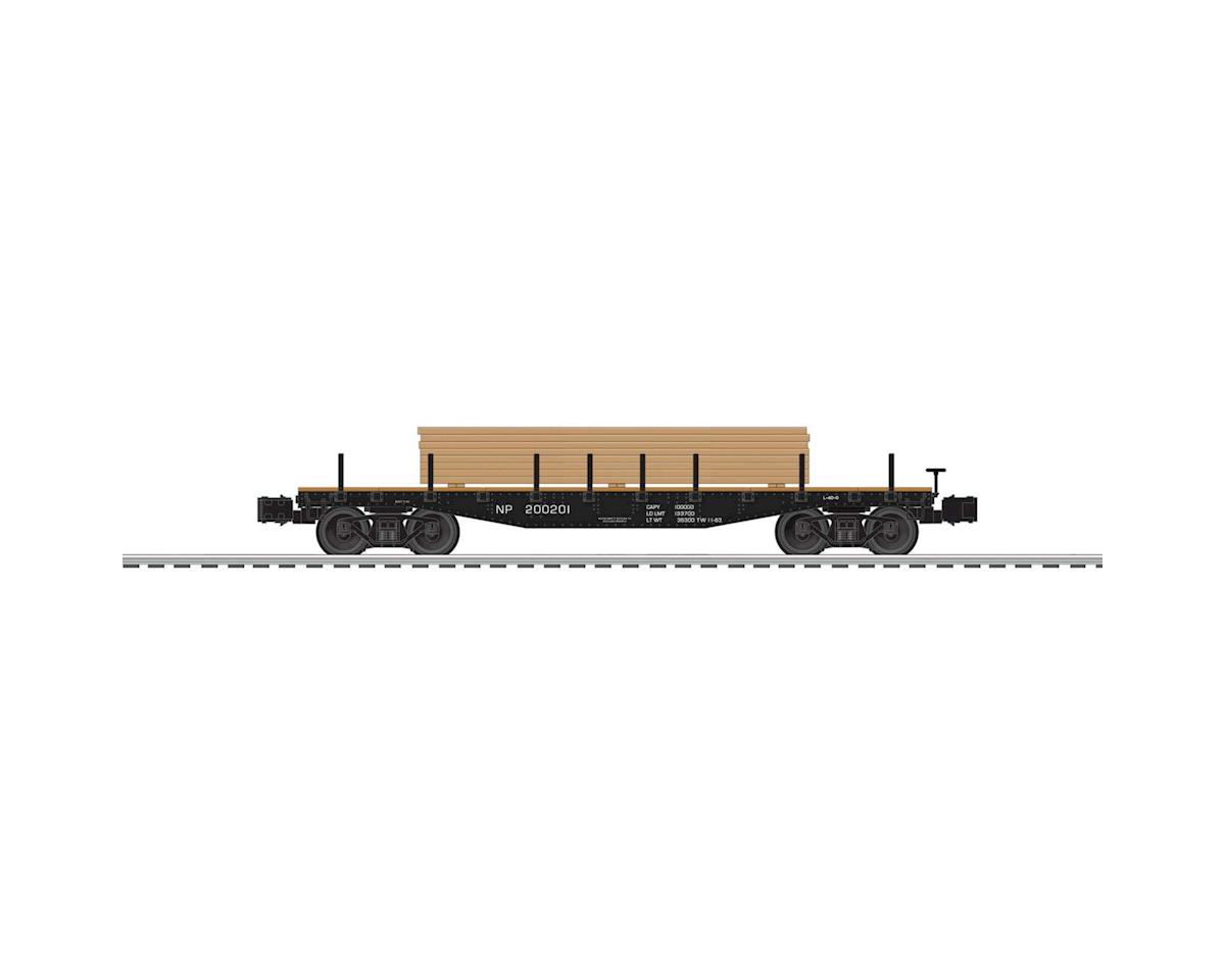 Lionel O 40' Flat w/Lumber Load, NP