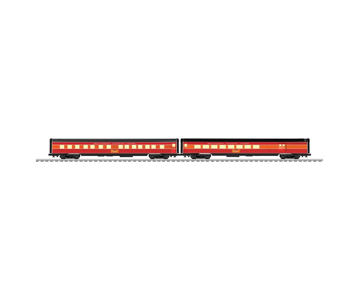 "Lionel O 21"" Passenger Car, SP/Daylight (2)"