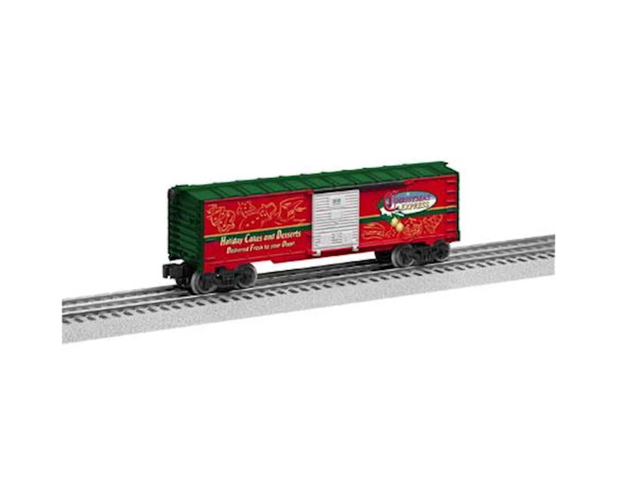 Lionel O-27 Express Box, Christmas