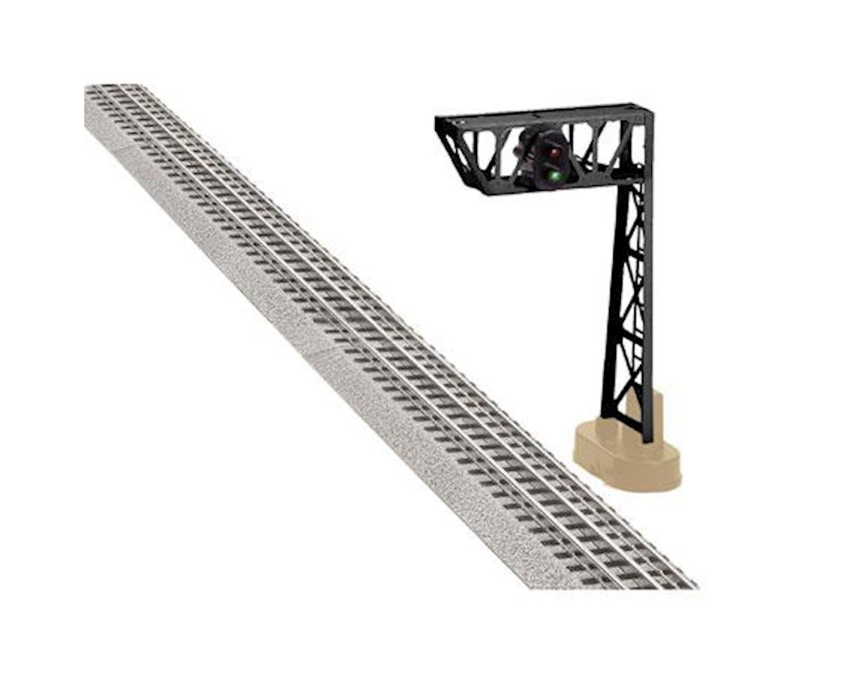 Lionel O Single Signal Bridge