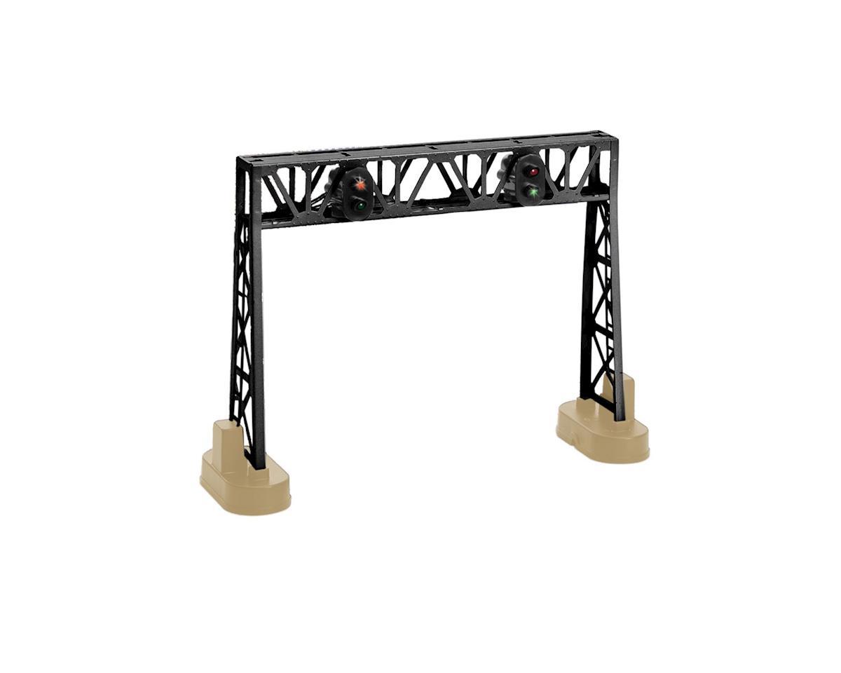 Lionel O Double Signal Bridge