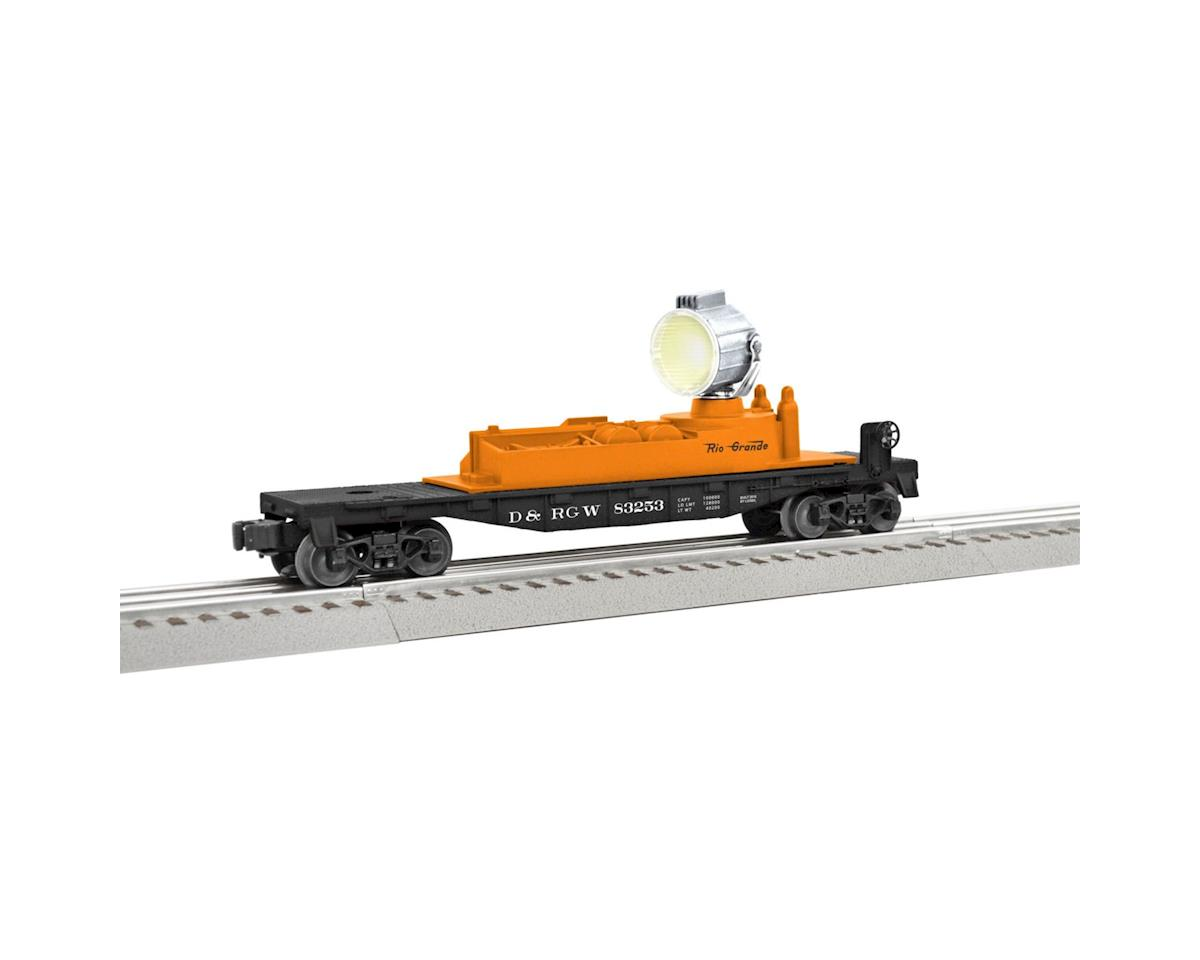 O-27 Searchlight Car, D&RGW by Lionel