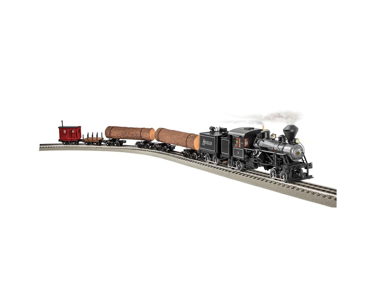 Lionel O BTO Heisler Log Train Set
