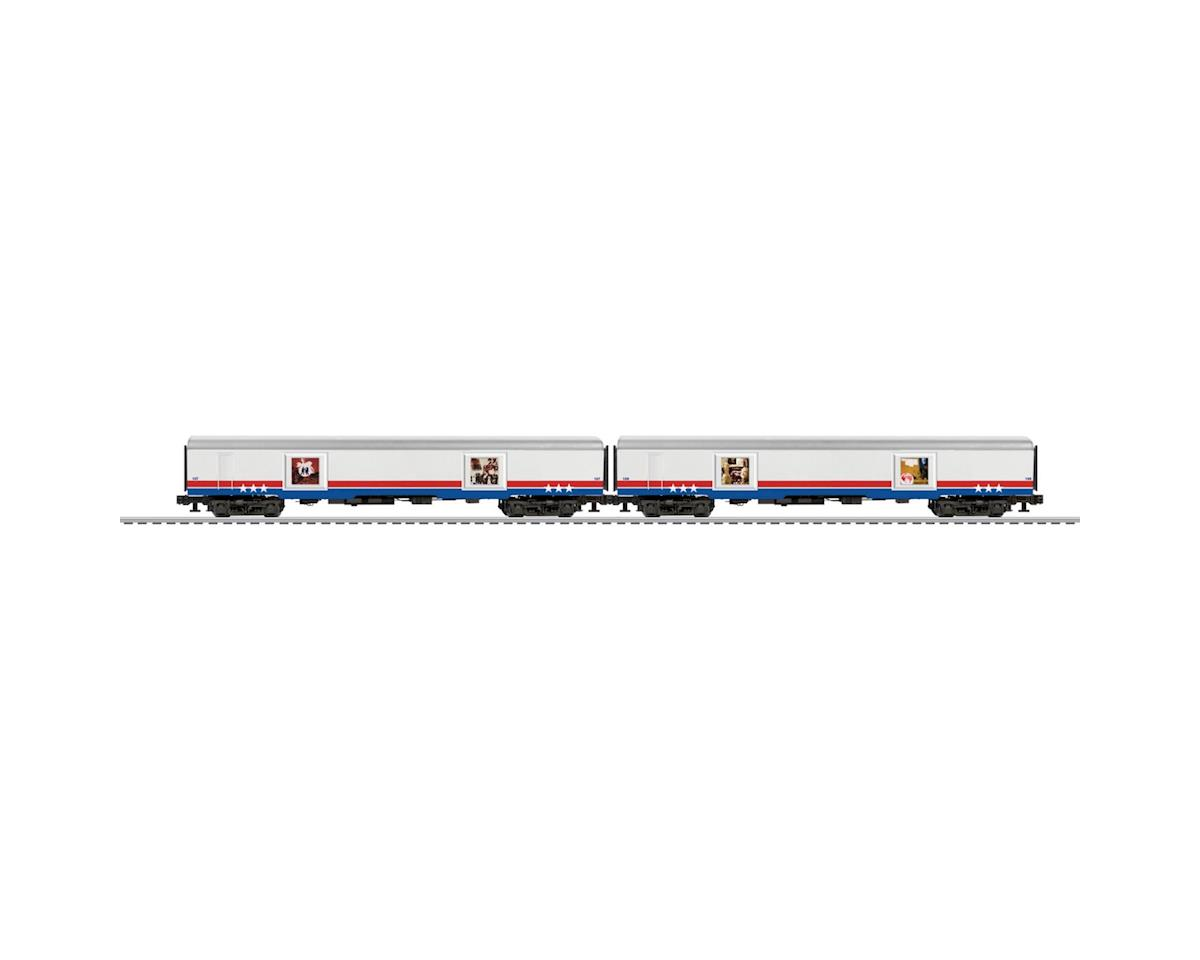 Lionel O Passenger, American Freedom Train #1 (2)