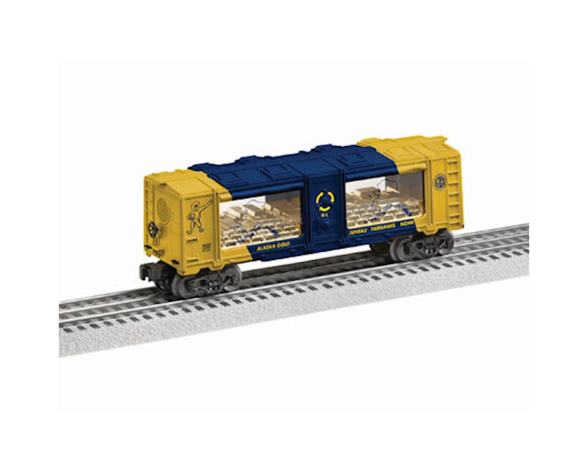 O-27 Gold Mint Car, ARR by Lionel