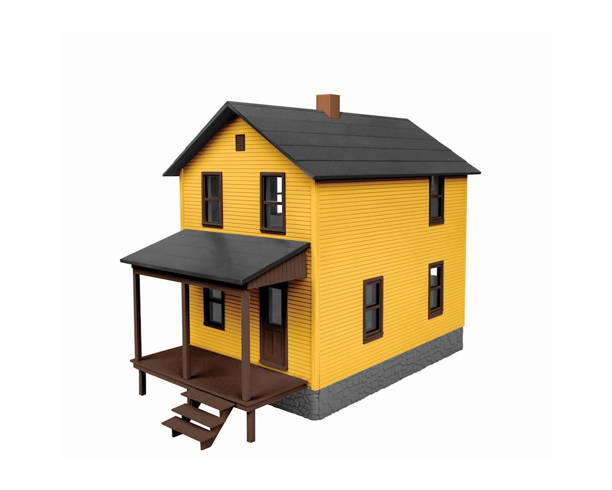 Lionel O Company Row House, Yellow