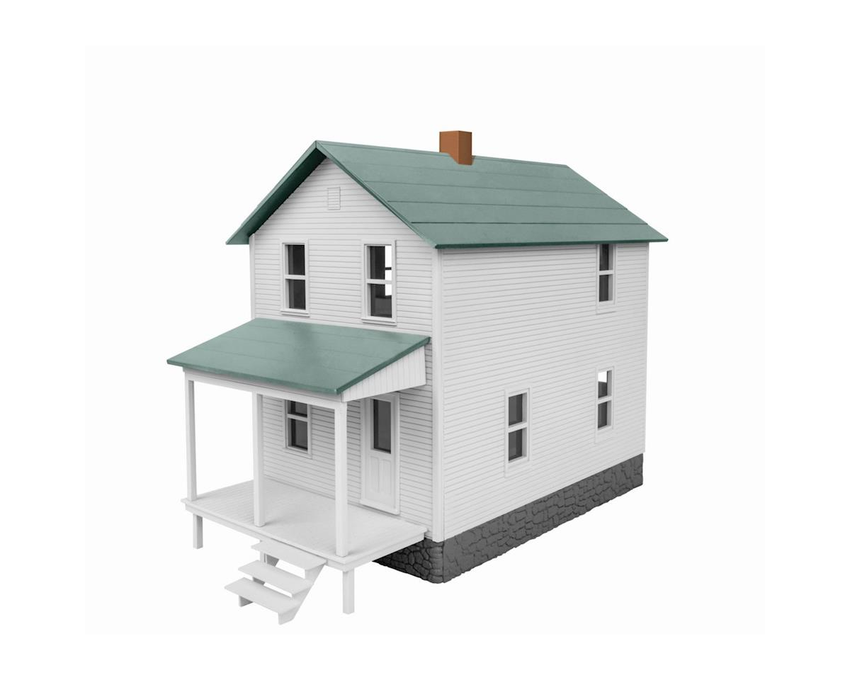 Lionel O Company Row House, White