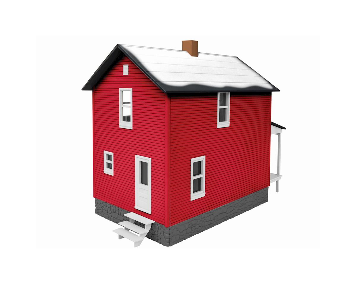 Lionel O Company Row House, Red