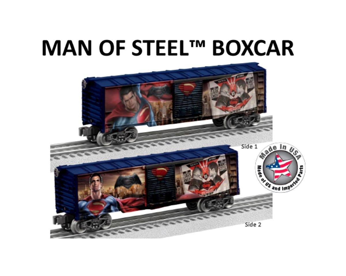 Lionel O-27 BTO Box, Man of Steel