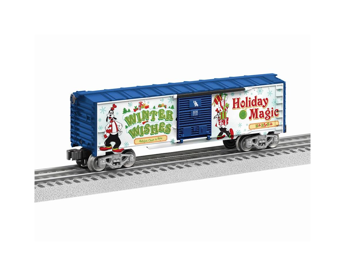 Lionel O-27 Box, Goofy/Happy Holidays