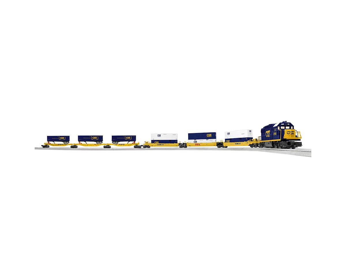 O-27 RTR LionChief Intermodal Set w/Bluetooth, CSX by Lionel