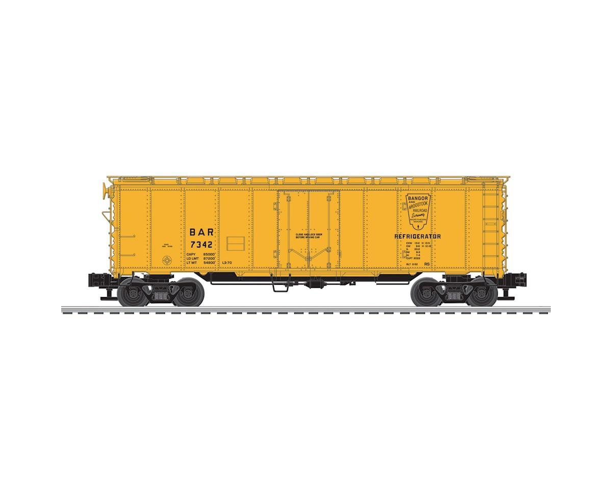 Lionel O-27 40' Steel Reefer, B&A