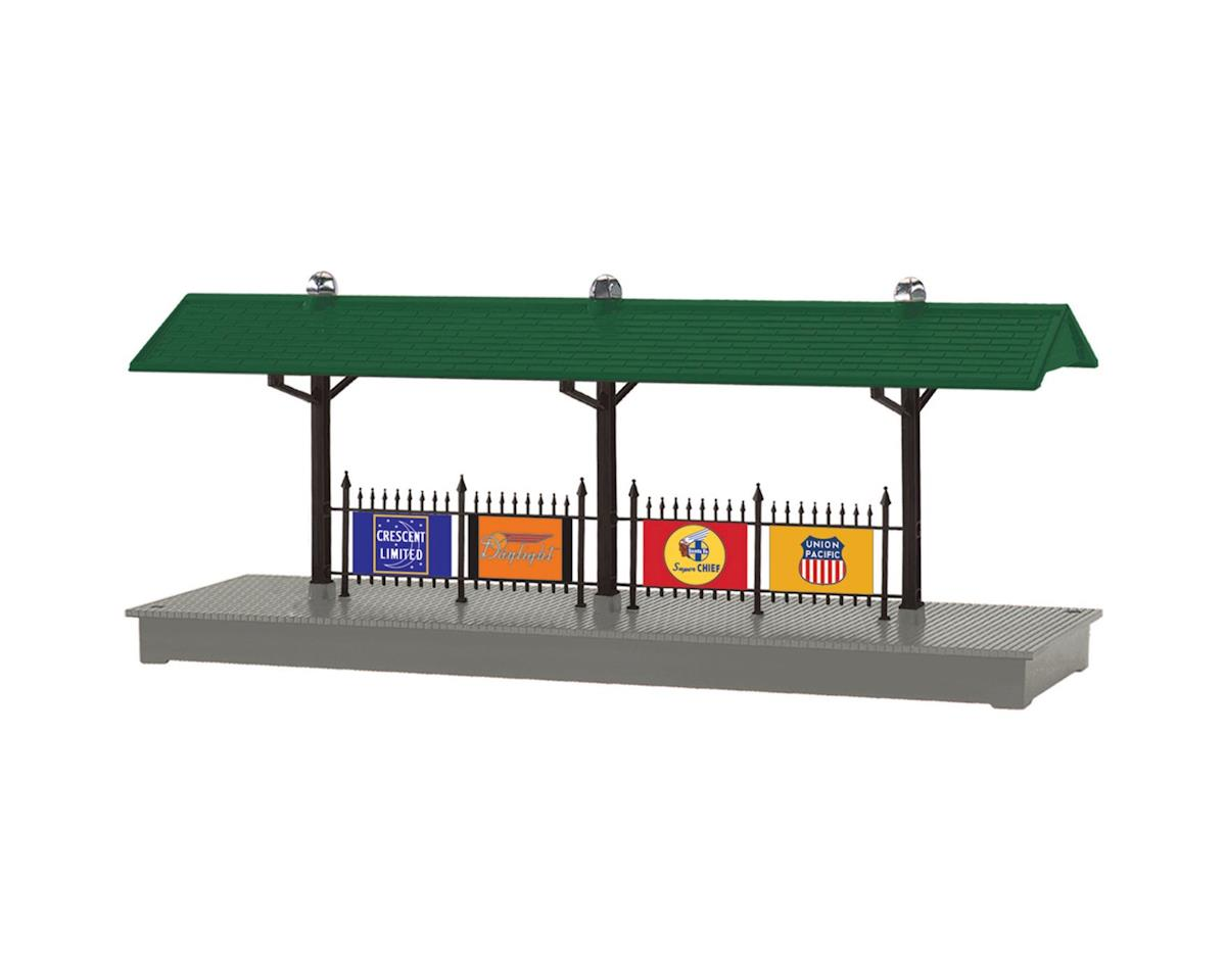 Lionel O Illuminated Station Platform