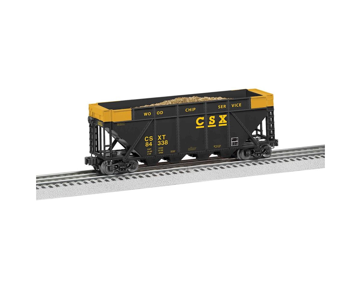 O-27 Woodchip Hopper, CSX by Lionel