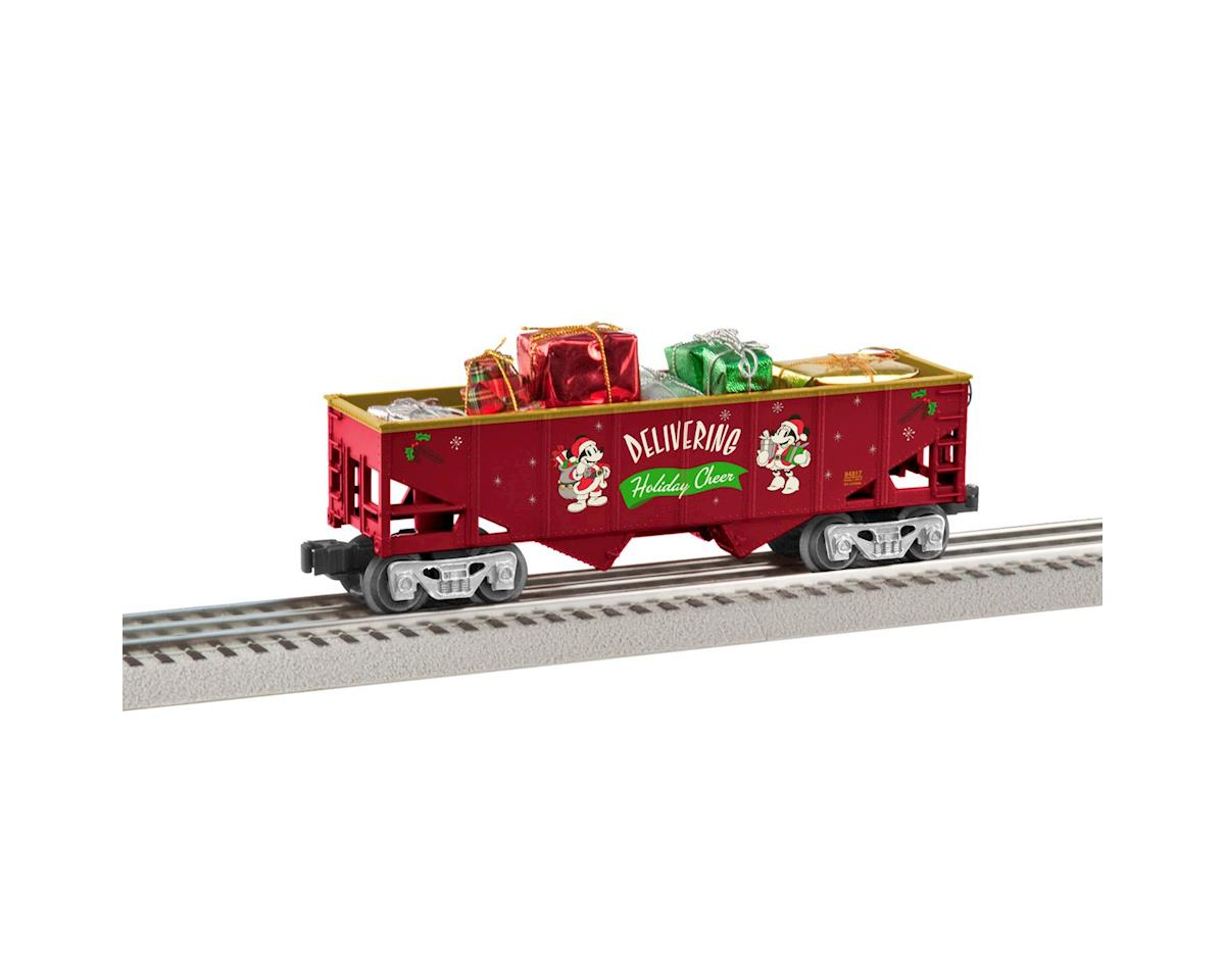 Lionel O-27 Hopper w/Presents, Mickey's Holiday