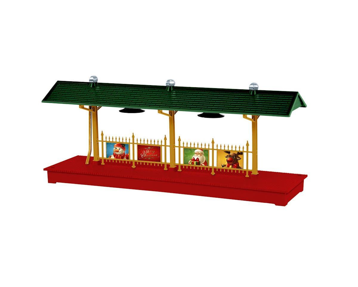 Lionel O Station Platform, Christmas