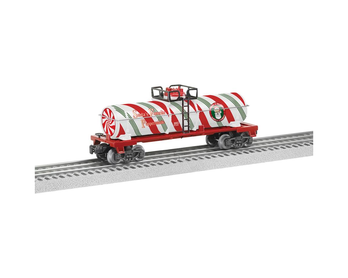 Lionel O-27 Tank, Christmas Peppermint