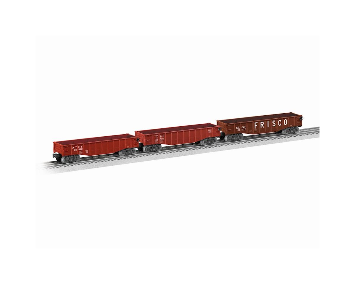 Lionel O-27 Gondola, West Assortment (6)