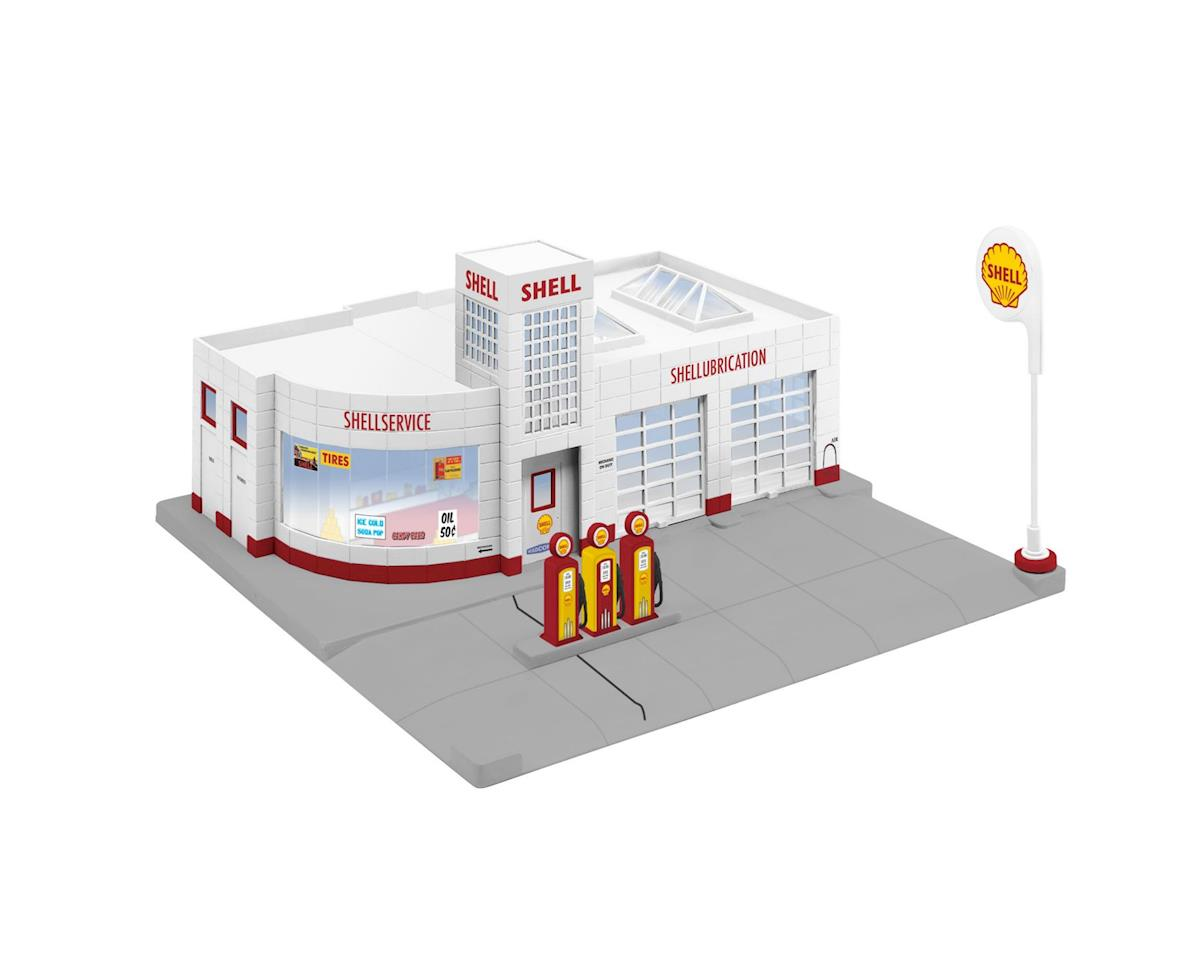Lionel O Gas Station/Plug-Expand-Play, Shell