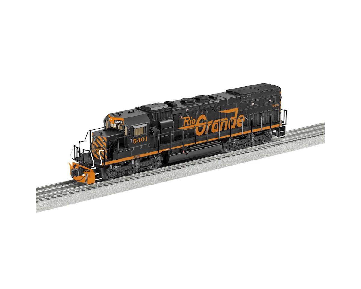 Lionel O BTO SD40T-2 w/Legacy, D&RGW #5401