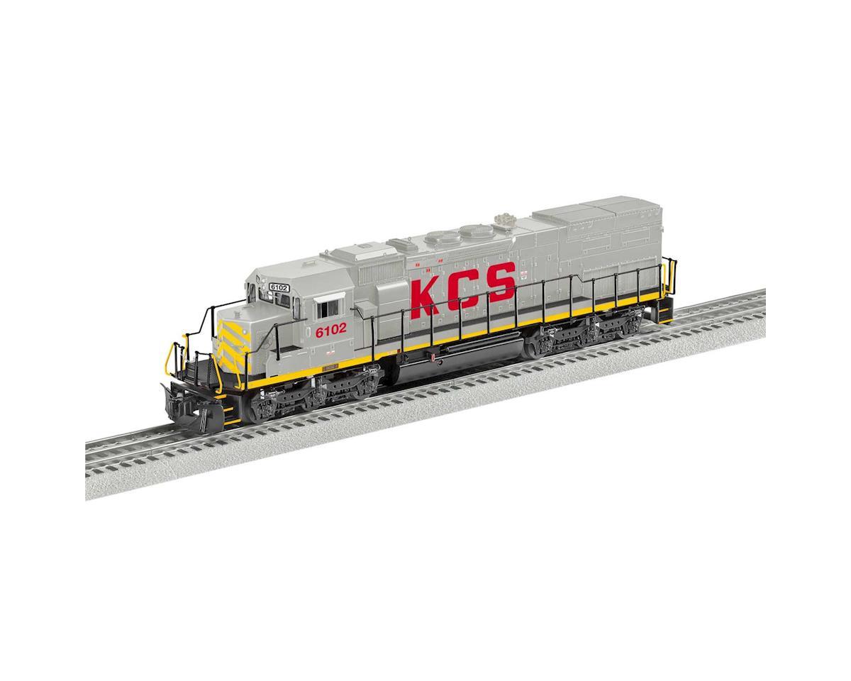 Lionel O BTO SD40T-2 w/Legacy, KCS #6102