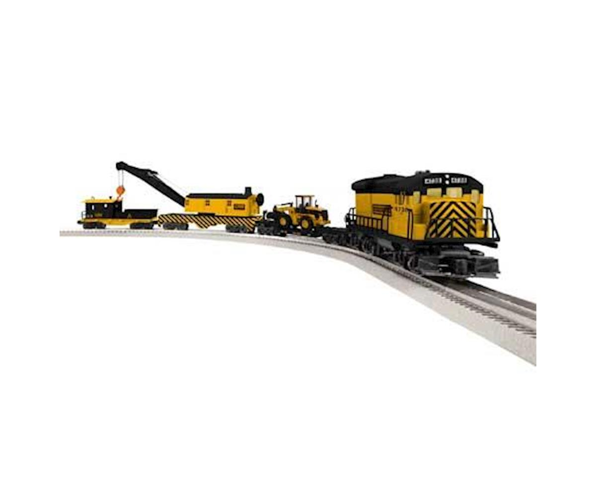 Lionel O-27 LionChief Construction Railroad Set w/BT