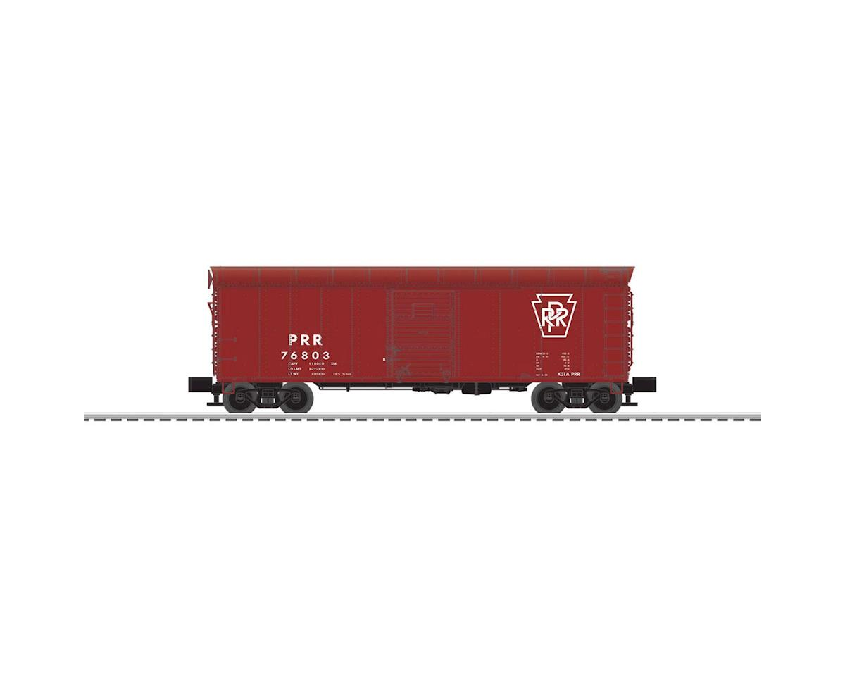 Lionel O X31 Box, PRR/Plain Keystone #76803