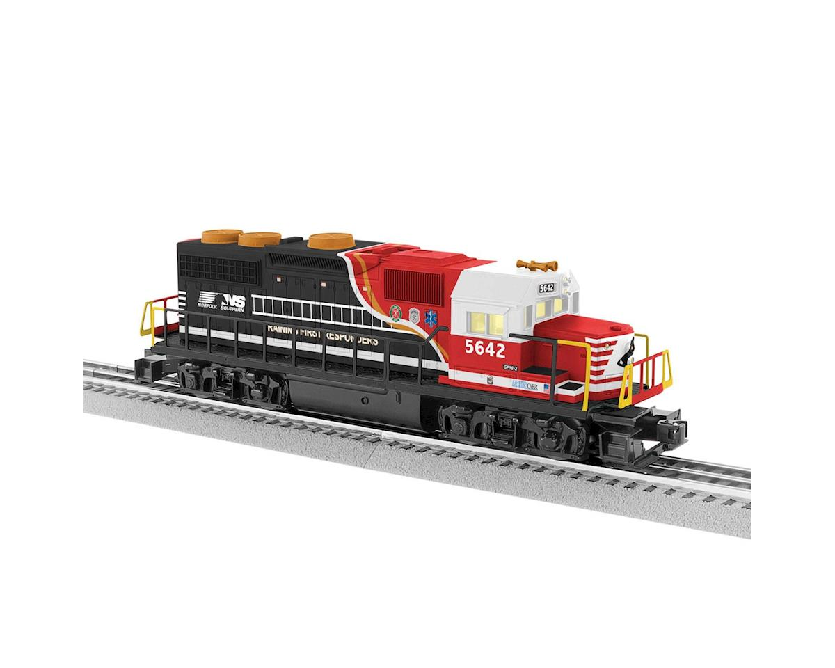 Lionel O-27 LionChief Plus GP38, NS/First Responder #5642
