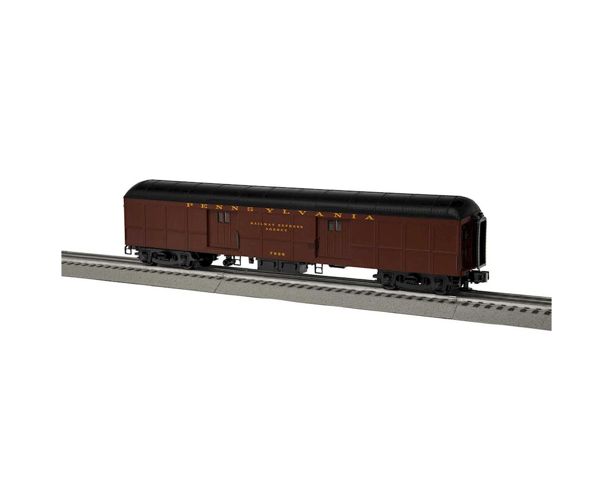 Lionel O B60 Round Roof Baggage, PRR #7938
