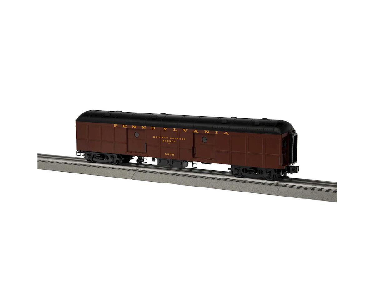 Lionel O B60 Round Roof Baggage/REA, PRR #9379