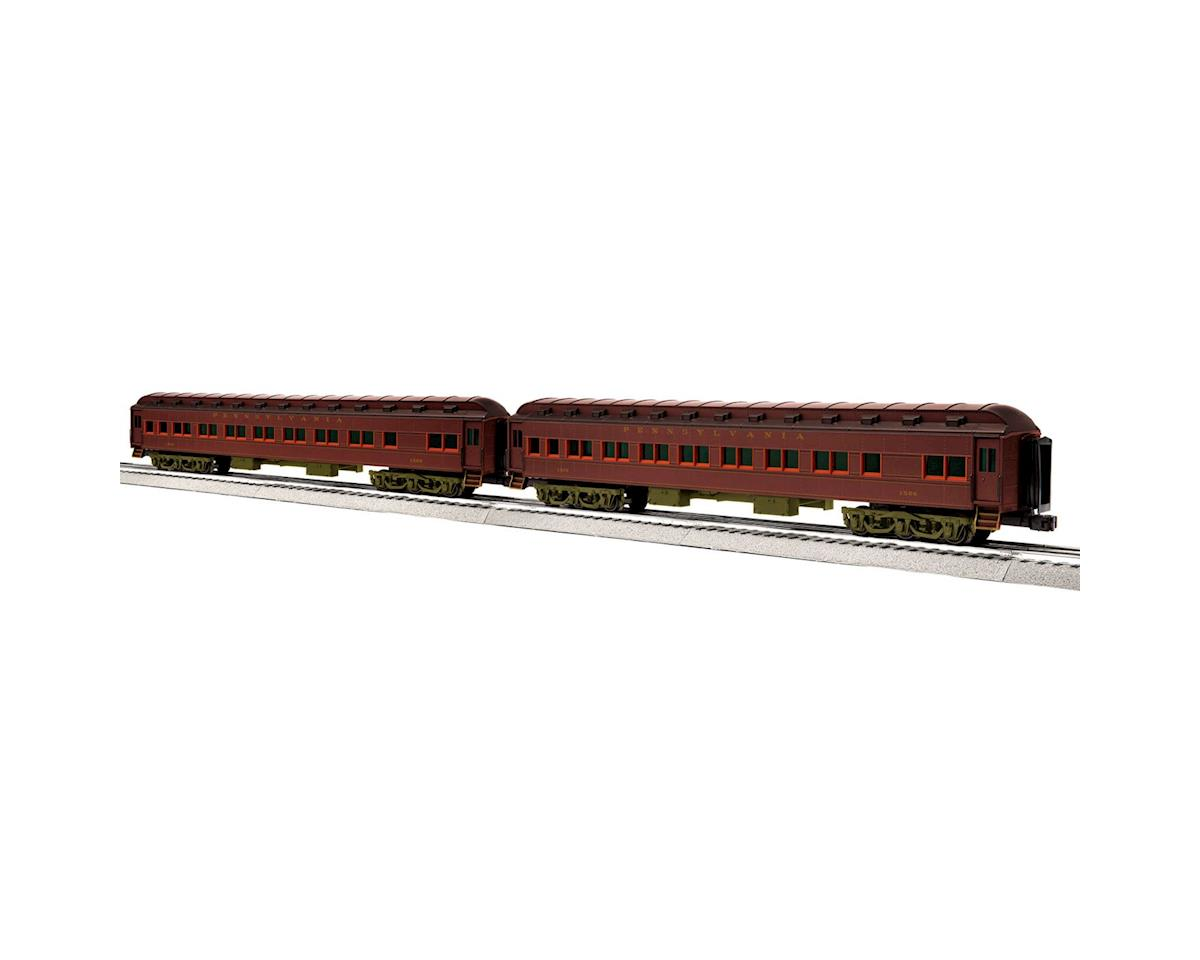 Lionel O 18'' Heavyweight Coach, PRR #2 (2)