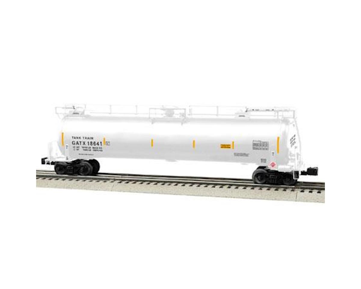 Lionel O TankTrain Intermediate Car, White #2