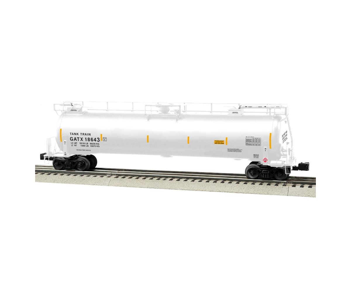 Lionel O TankTrain Intermediate Car, White #4