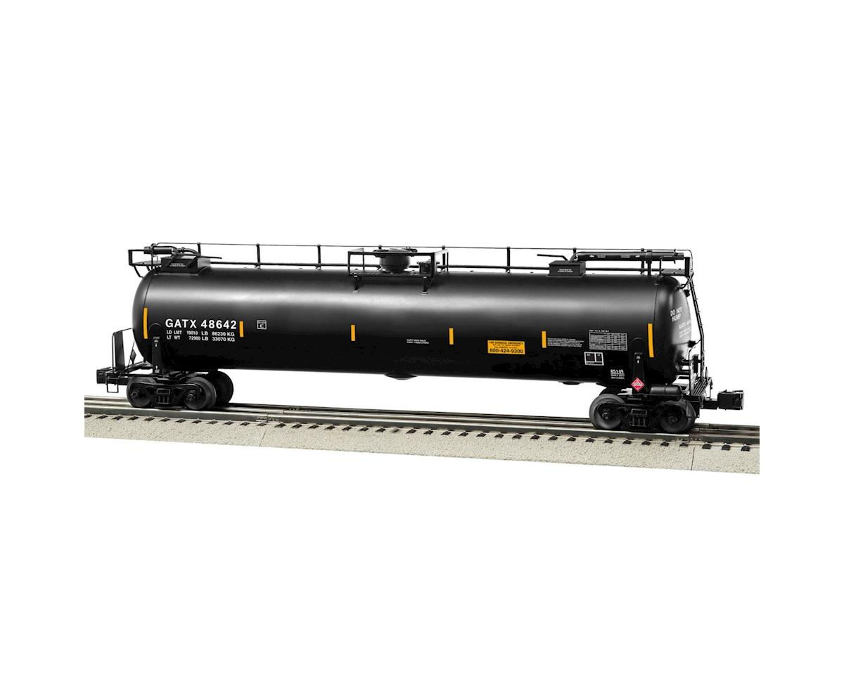 Lionel O TankTrain Intermediate Car, GATX/Black #6