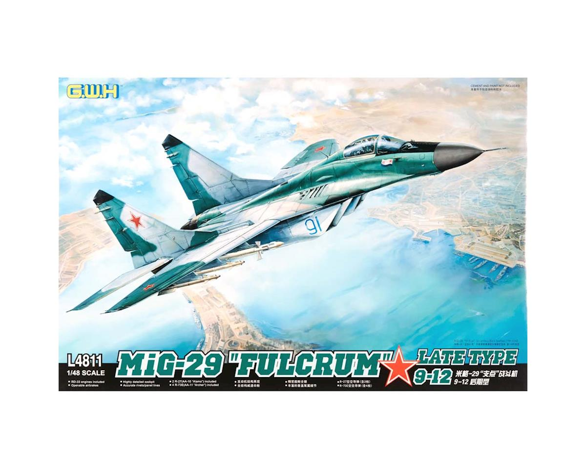 "Great Wall Models L4811 1/48 MIG-29 9-12 ""Fulcrum"" Late Type"