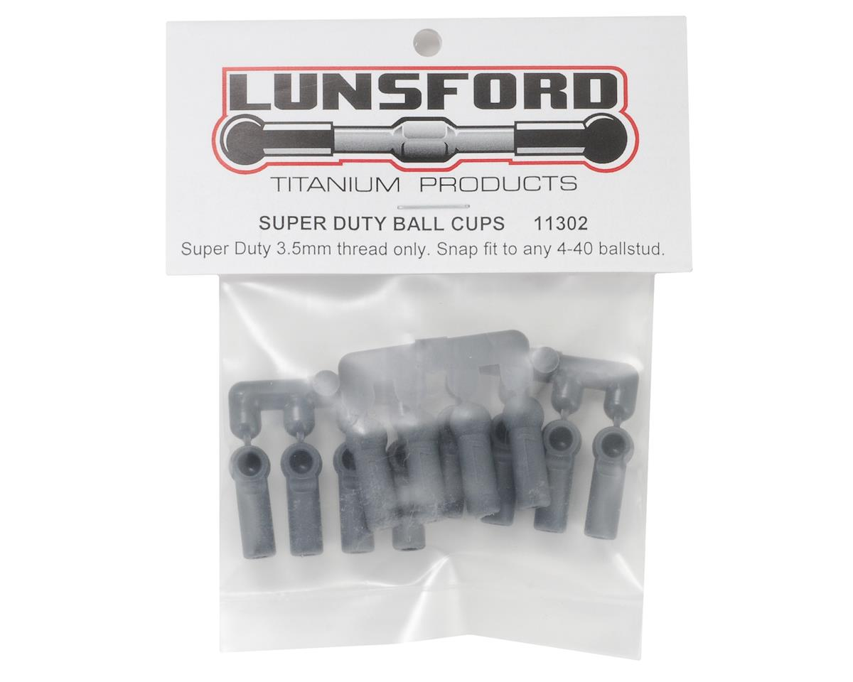 """Super Duty"" Ball Cups (Gray) (12) by Lunsford"