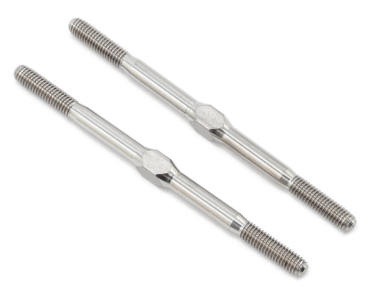 "Lunsford 3x55mm ""Punisher"" Titanium Turnbuckles (2)"