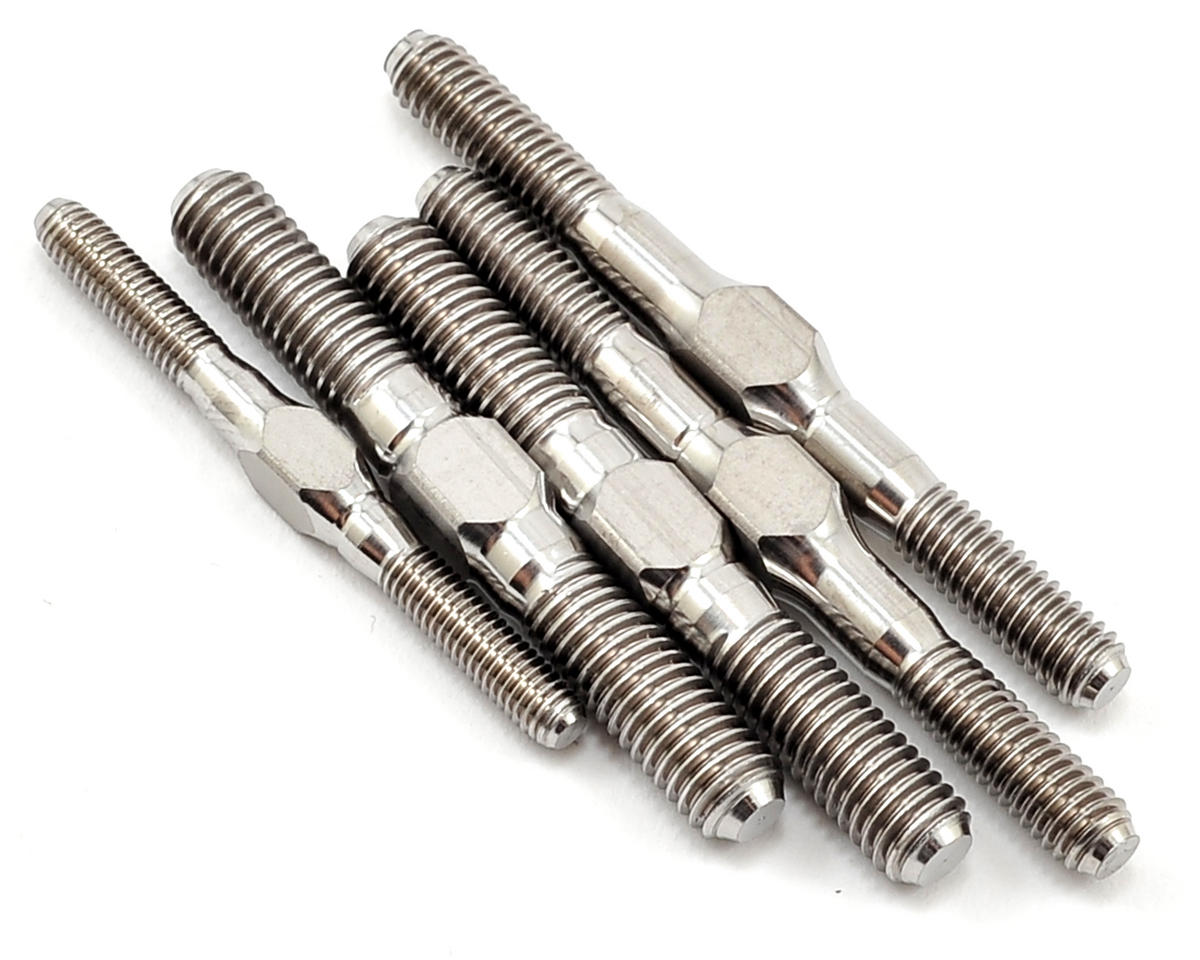 """Punisher"" Mugen MBX7 Titanium Turnbuckle Kit (5) by Lunsford"