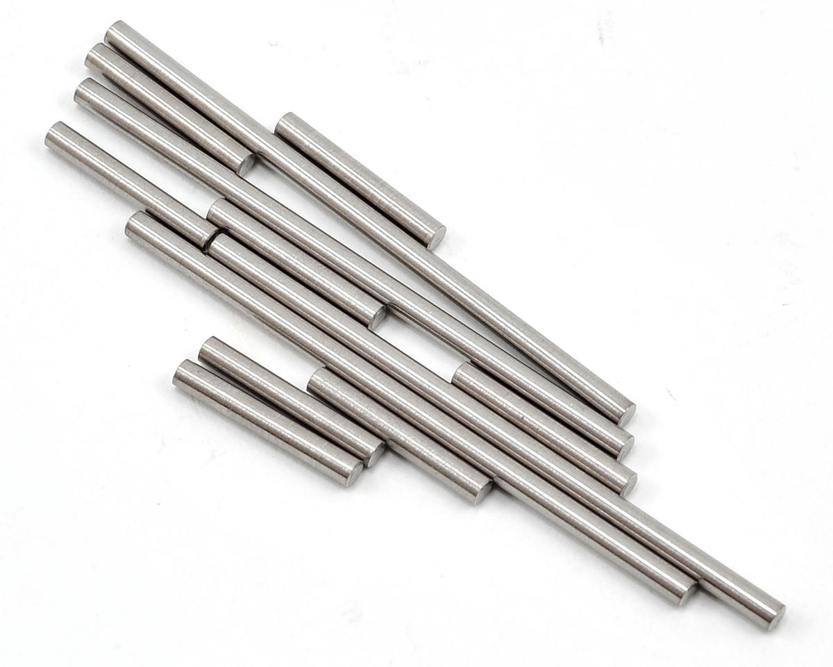 Lunsford 1/16 Traxxas Rally Titanium Hinge Pin Kit (12)