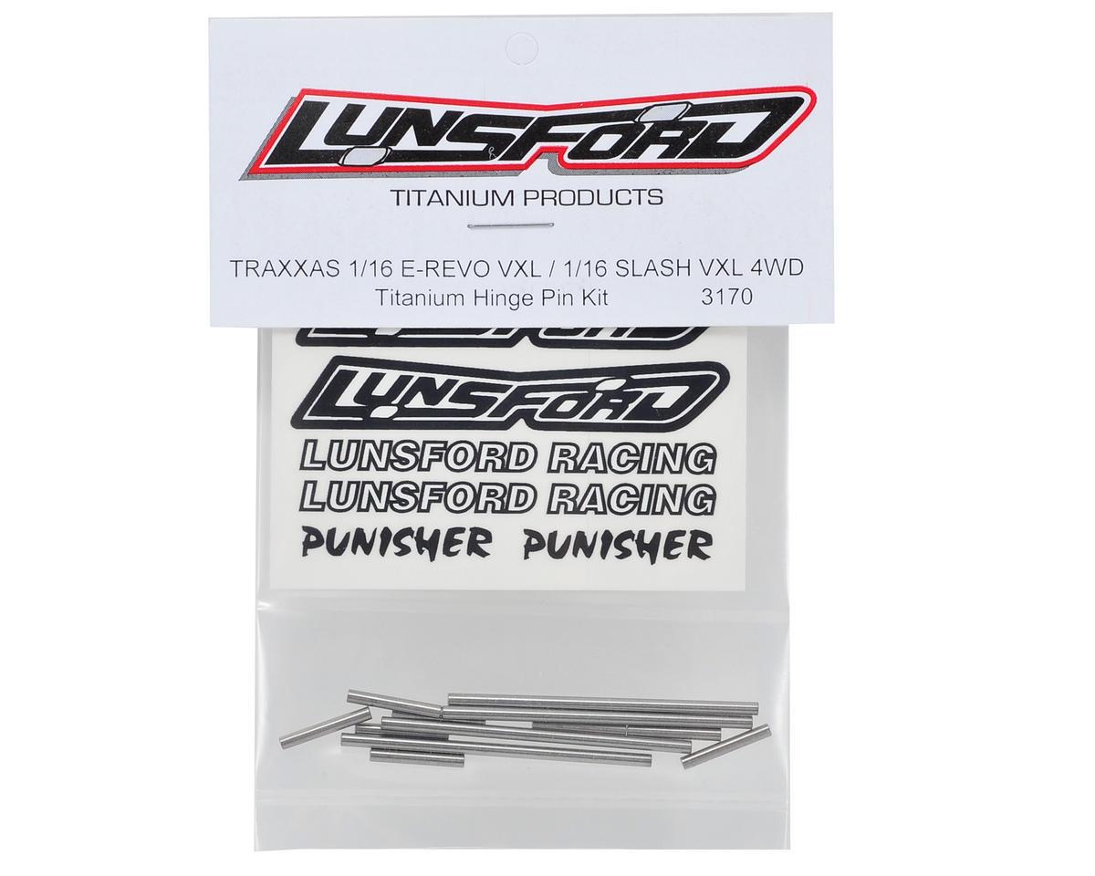 Lunsford 1/16 Traxxas Titanium Hinge Pin Kit (12)