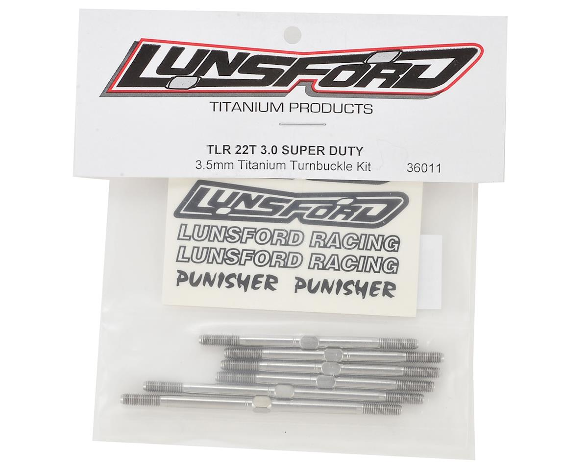"Lunsford TLR 22T 3.0 ""Super Duty"" Titanium Turnbuckles (6)"