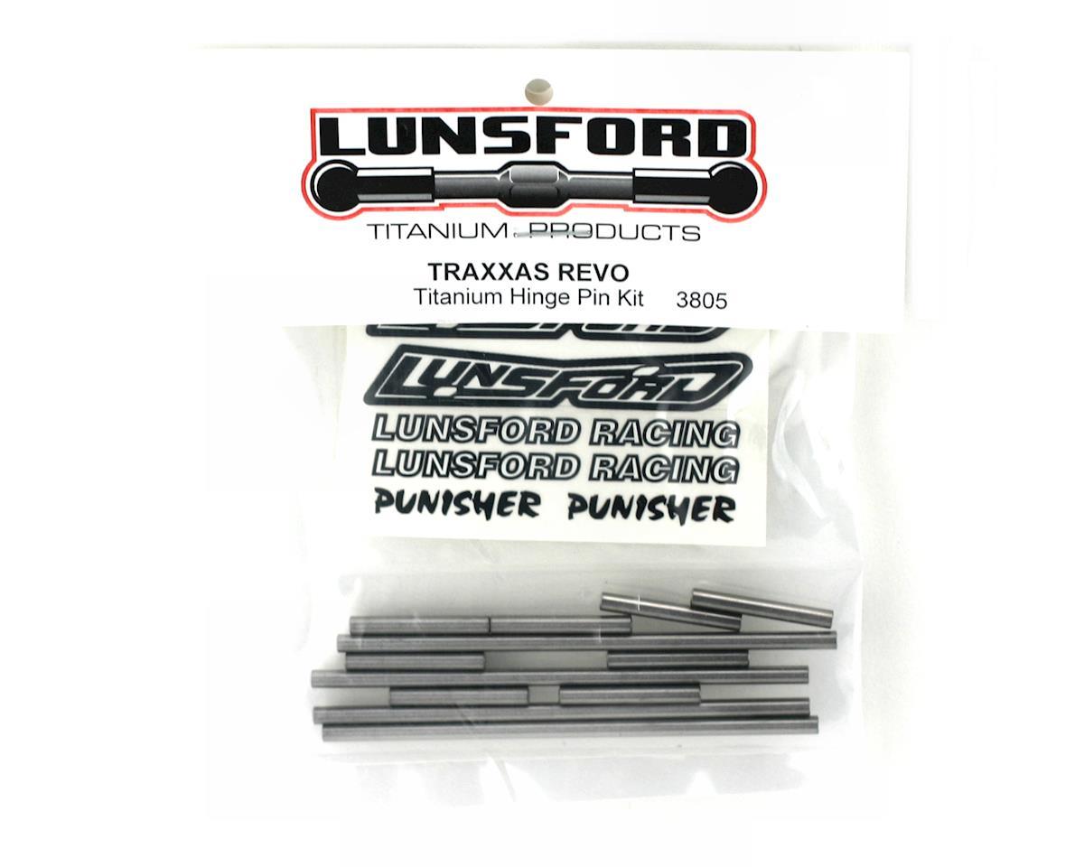Lunsford Traxxas Revo Titanium Hinge Pin Kit (12)