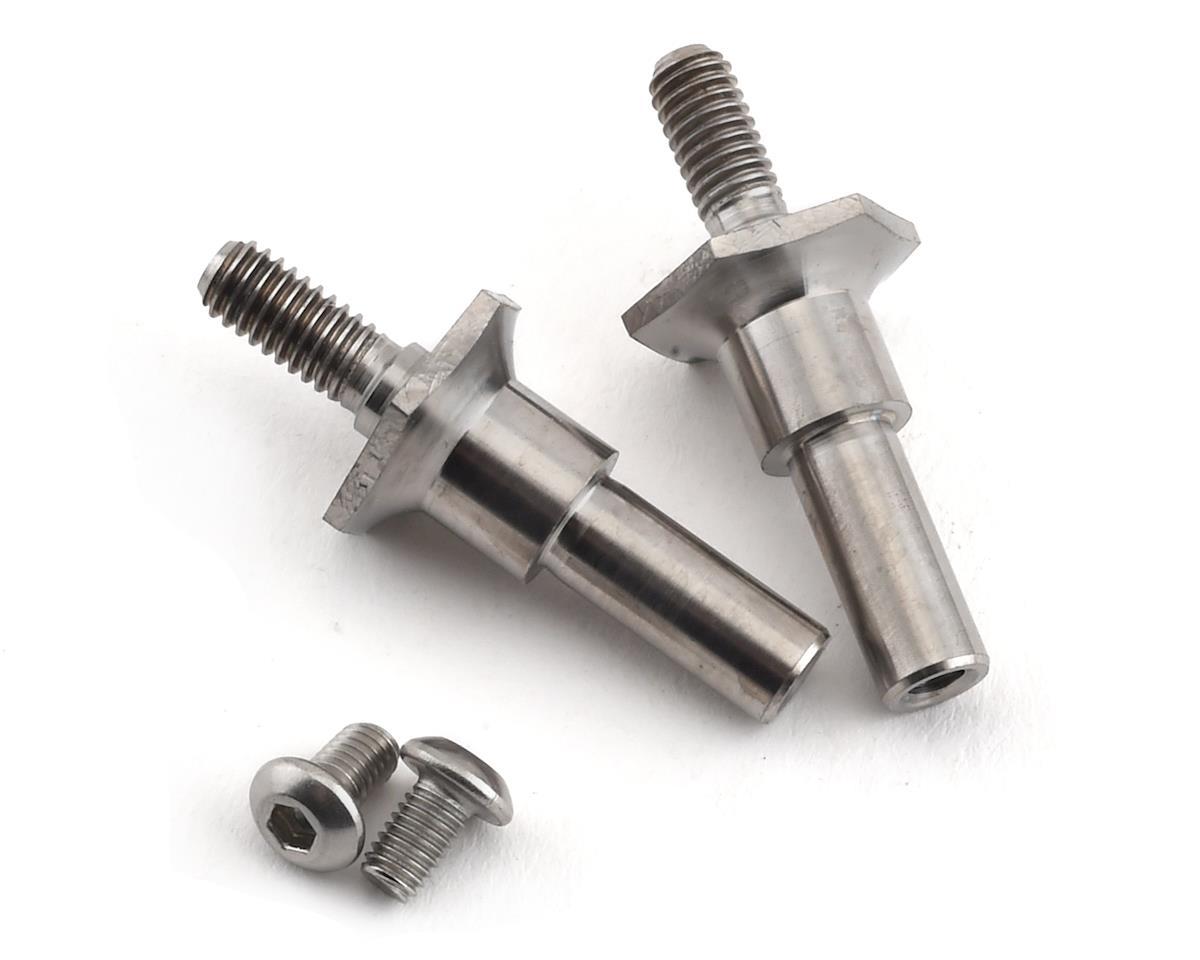 Lunsford Associated RC10T6.1/SC6.1 Titanium Front Axles (2)