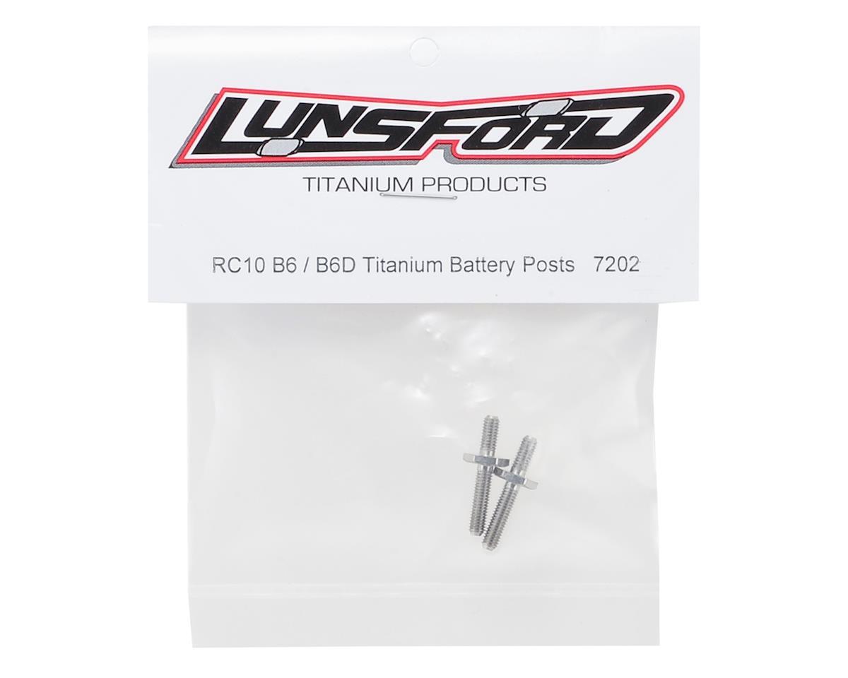 Lunsford B6/B6D Titanium Battery Post (2)