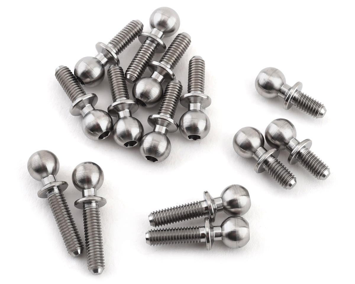 Lunsford Yokomo YZ-2 DTM3 5.5mm Titanium Ball Stud Kit (14)