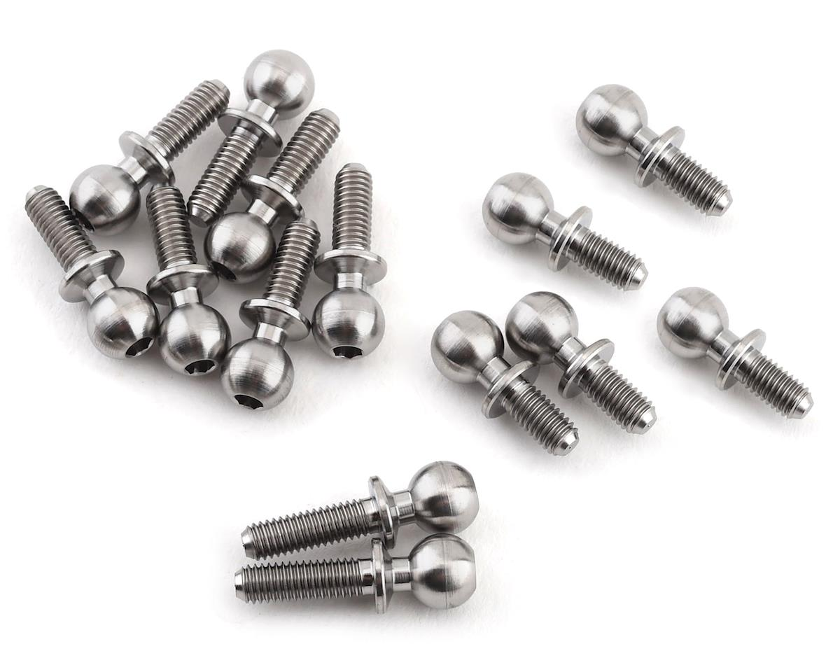 Lunsford Yokomo YZ-2 CAL3 5.5mm Titanium Ball Stud Kit (14)